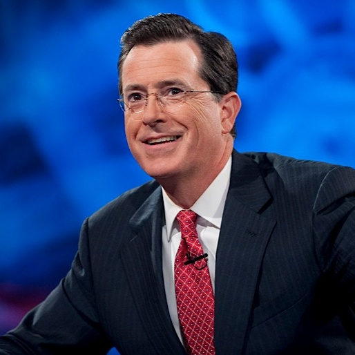Stephen Colbert Announces His First <i>Late Show</i> Guest