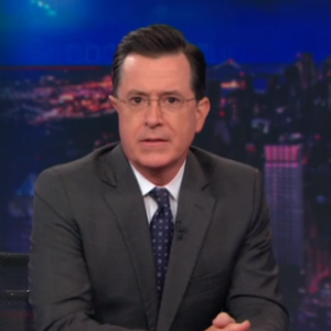 Stephen Colbert Says Goodbye to Stephen Colbert on <i>The Daily Show</i>