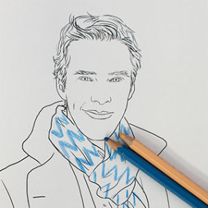 Treat Your <i>Sherlock</i> Withdrawal with the Benedict Cumberbatch Coloring Book