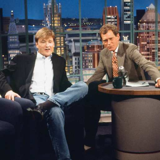 Conan Pays Tribute to Letterman