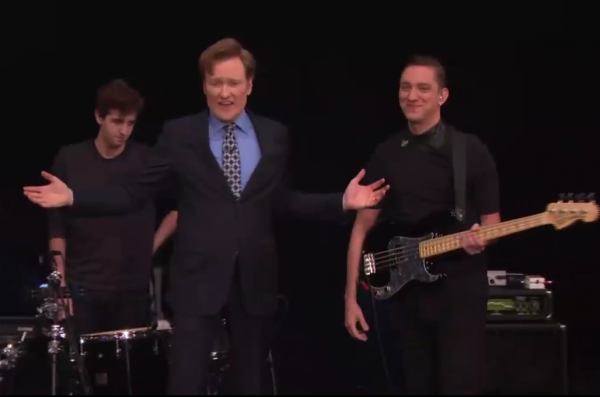 "Watch The xx Perform ""Angels"" on <i>Conan</i>"