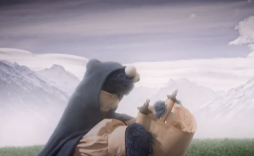 Watch Sesame Street's Cookie-Filled Parody of <i>Lord of the Rings</i>