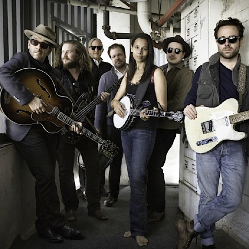 """Watch Elvis Costello, Jim James and Others Record """"New Basement Tapes"""""""