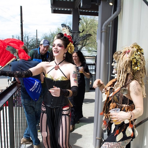 Things Got Weird At Lagunitas' Couch Trippin' Party: A Gallery