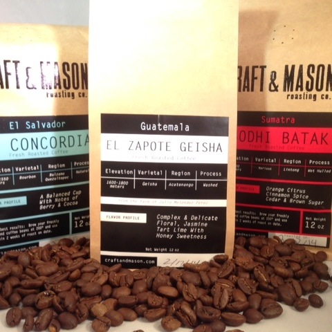 Craft And Mason Coffee Spotlight