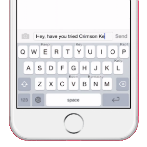 Crimson Keyboard App Review (iOS): A Light Typing Alternative