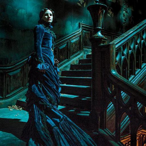 First Official Photos for Guillermo Del Toro's <i>Crimson Peak</i> Are a Gothic Dream