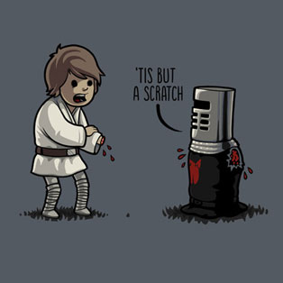 Popular Characters Meet Up in Geeky Cross-Over Illustrations