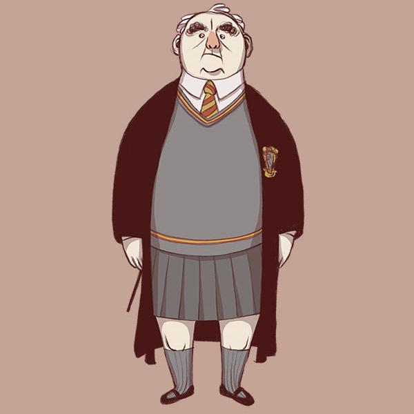 Daniel Cuello Draws the Same Old Man in 34 Famous Movie Costumes