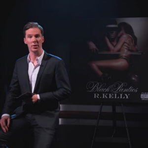 "Watch Benedict Cumberbatch Recite the Lyrics to R. Kelly's ""Genius"" on <i>Kimmel</i>"