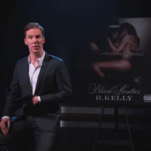 "Watch Benedict Cumberbatch Recite the Lyrics to R. Kelly's ""Genius"" on <i>Kimmel</i>"