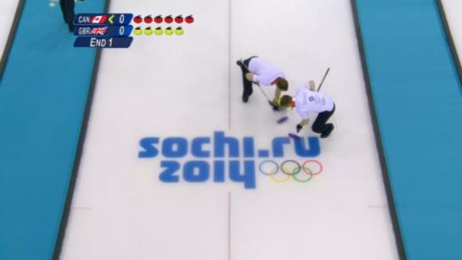 Irony-Free Friday: Curling