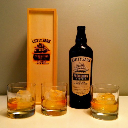 Cutty Sark Prohibition Edition Review