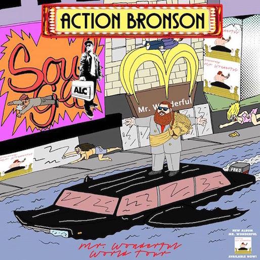 Action Bronson Announces <i>Mr. Wonderful</i> World Tour
