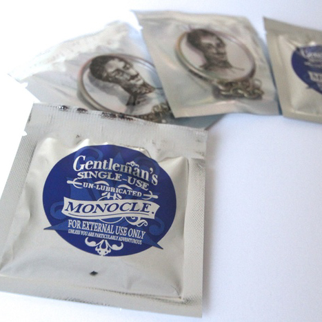 Get Protected with the Gentleman's Single-Use Monocle