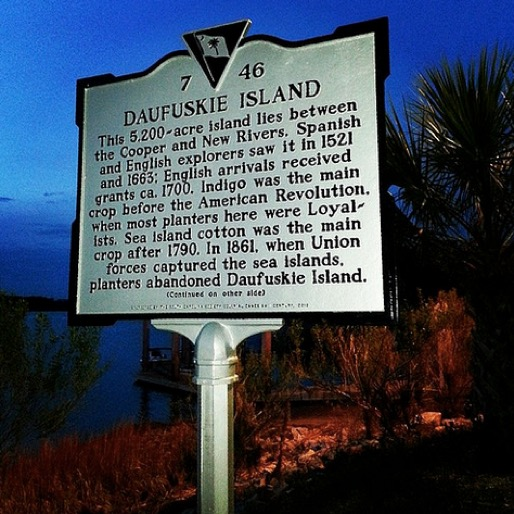 On the Road: Email Dispatches from Daufuskie Island, South Carolina