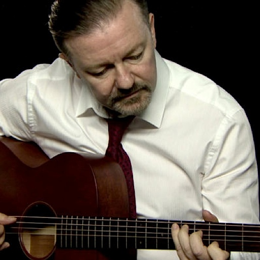 """Listen to Ricky Gervais Perform """"Slough"""" as David Brent"""