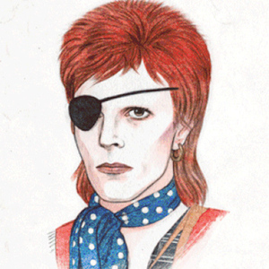 The Many Transformations of David Bowie in One Animated GIF