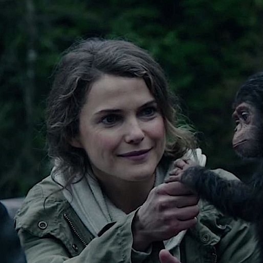 Catching Up With Keri Russell of <i>Dawn of the Planet of the Apes </i>