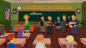 Watch The Decemberists' <i>Simpsons</i> Appearance