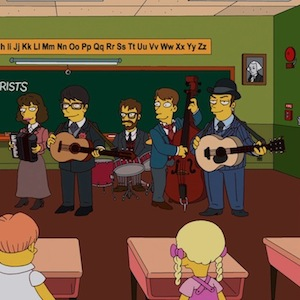 Watch The Decemberists' &lt;i&gt;Simpsons&lt;/i&gt; Appearance