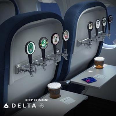 Delta Expands Craft Beer Options