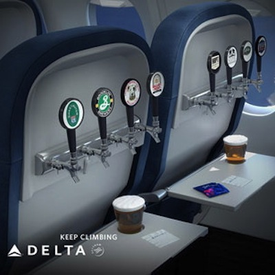 Delta Expands Craft Beer Options