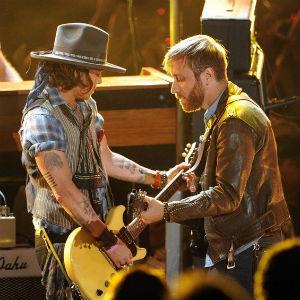 Watch The Black Keys Perform with Johnny Depp