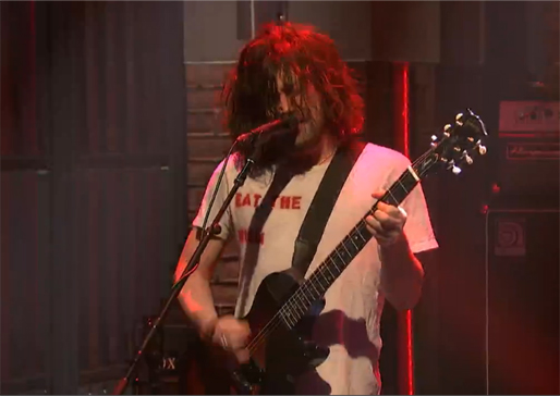 "Watch Desaparecidos Bash Out ""City on the Hill"" on <i>Late Night With Seth Meyers</i>"