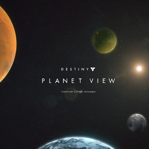 Bungie Unveils <em>Destiny</em> Planet View
