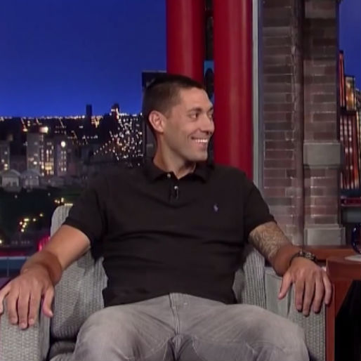 Clint Dempsey Talks Soccer with Dave Letterman