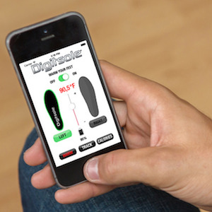 You Can Control The Temperature of This Shoe Insole With Your Smartphone