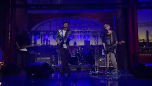 Watch DIIV on &lt;i&gt;Letterman&lt;/i&gt;