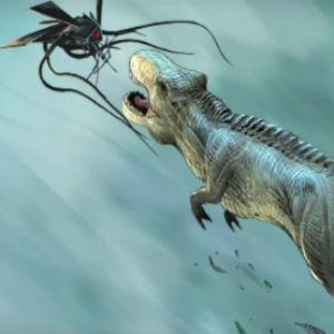 Watch a Trailer for Grant Morrison's Motion Comic, <i>Dinosaurs vs. Aliens</i>