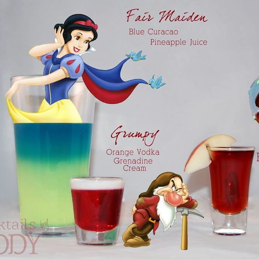 The Evil Step-Mother, And Other Disney-Themed Cocktails