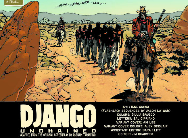 Read the First Five Pages of the <i>Django Unchained</i> Comic