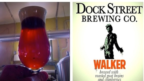Brewery Makes Walking Dead Beer With Real Brains