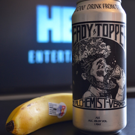 Does It Pair? Heady Topper and a Dole Banana