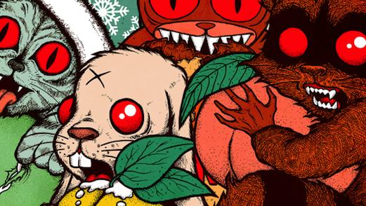 Dogfish Head Seasonals Get Rock 'n Roll Art Labels