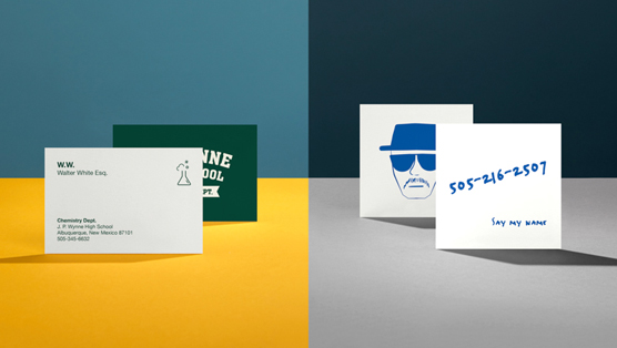 Character Design Business Card : Business cards of characters alter egos design