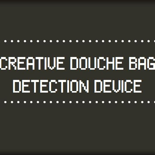 """Test Someone for Douchebaggery With This Handy Online """"Device"""""""