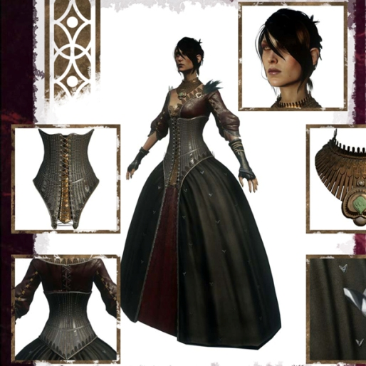 <i>Dragon Age</i> Fashion: Feminine Clothing is Never Just Feminine Clothing
