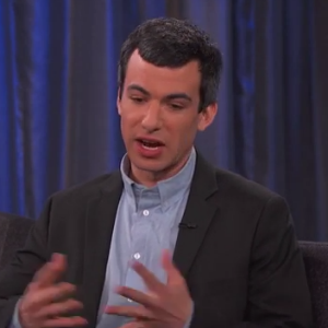 "Watch Nathan Fielder Explain ""Dumb Starbucks"" on <i>Jimmy Kimmel Live!</i>"