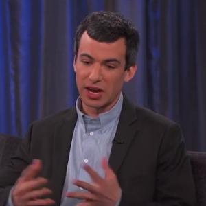 "Watch Nathan Fielder Explain ""Dumb Starbucks"" on <i>Jimmy Kimmel Live!</i>"