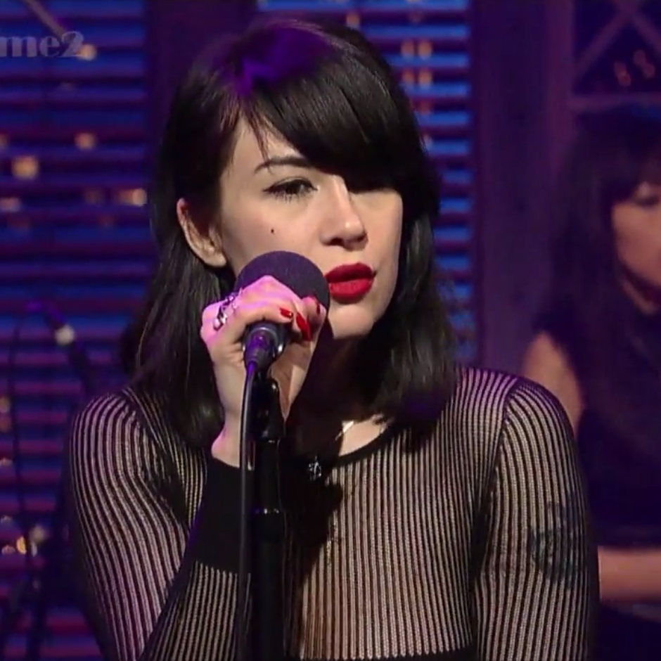 "Watch Dum Dum Girls Play ""Rimbaud Eyes"" on Letterman"