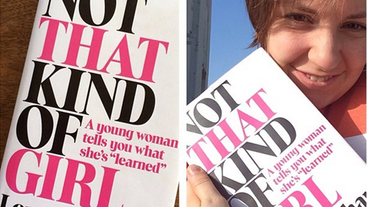 Lena Dunham's Book, <i>Not That Kind of Girl</i>, Set for October Release
