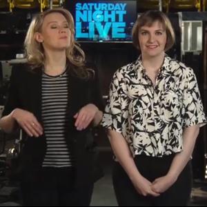 Watch Lena Dunham's <i>SNL</i> Promos with Kate McKinnon