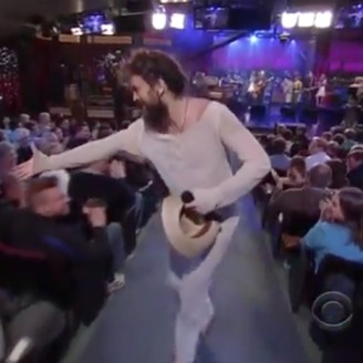 Watch Edward Sharpe and the Magnetic Zeros On <i>Letterman</i>