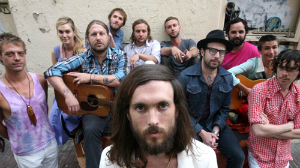Watch Edward Sharpe and the Magnetic Zeros Perform on <i>Kimmel</i>
