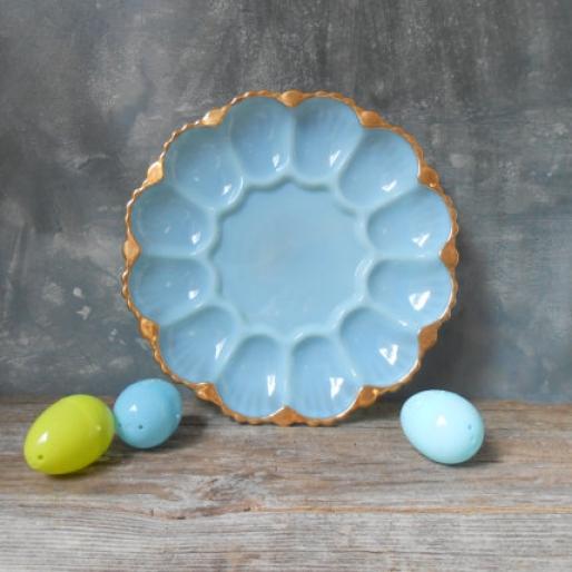 A Dozen Darling Deviled Egg Platters